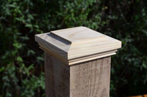 Qualité décoratif bois noyau Cap cavité pour 4/100MM Clôture/Porte/Escalier post
