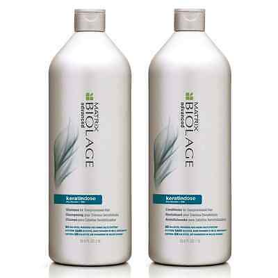 Matrix Biolage Keratindose Shampoo 1000ml & Conditioner 1000ml Duo