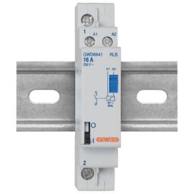 Stromstoßschalter für Reiheneinbau 230V 16A Schließer  Gewiss