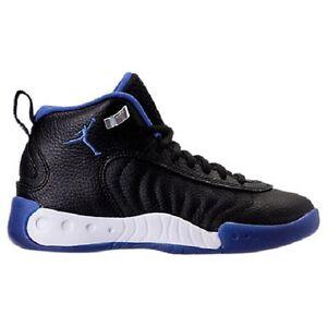 wholesale dealer 8c70d b960c Details about Youth Nike Air Jordan Jumpman Pro GS Basketball  Black/Royal-White 907973-006