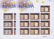 "2003 EUROPA CEPT Irlanda n. 2 Minifogli. ""Arte Manifesti""  MNH**"