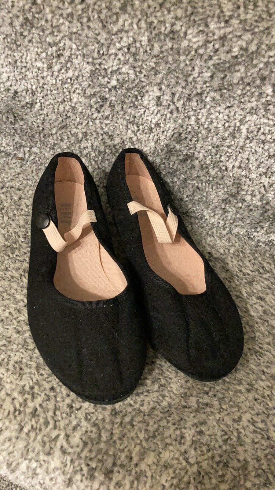 BLOCH GIRLS LOW HEEL CHARACTER BALLET SYLLABUS SHOES CHILD SIZE 10