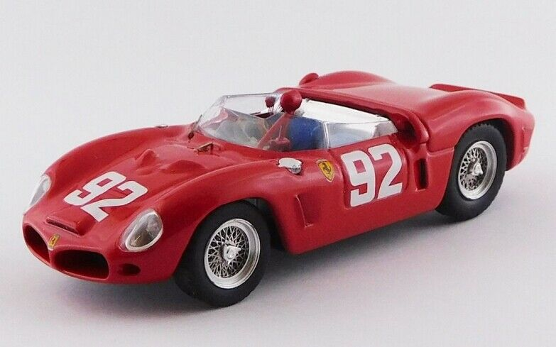 Art MODEL ART034.2 - Ferrari 246 SP SP SP 1er 1000 Km Nurburgring - 1962 Hill  1 43 c59