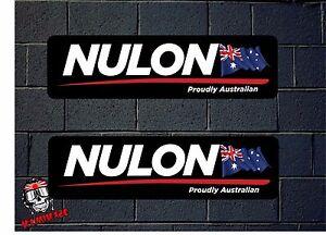 Details about PEGATINA STICKER AUTOCOLLANT ADESIVI AUFKLEBER DECAL 2X NULON  AUSTRALIAN