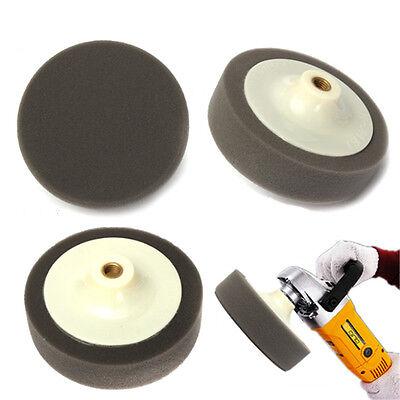 6'' M14 Sponge Foam Polishing Head White 150mm For Angle Grinders Polish Waxing