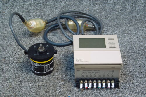 ABSOLUTE OMRON H8PS-8AF CAM POSITIONER WITH OMRON E6CP-AG5C-C ROTARY ENCODER