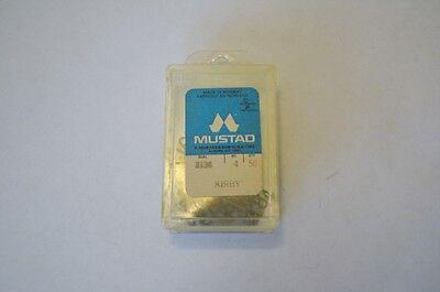 New Mustad Kirby 3136 Bronze Fish Hooks Size 4 Box of 50