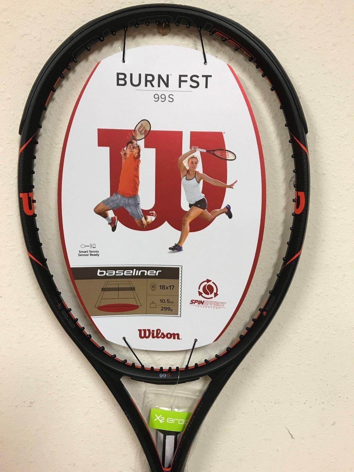 Wilson Burn FST 99S Tennis Racquet Grip Size 4 1 4