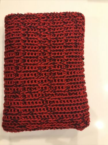 Rag and Bone Red and Black Scarf