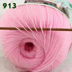 Sale-1-Skein-x50gr-LACE-Soft-Crochet-Acrylic-Wool-Cashmere-hand-knitting-Yarn-13