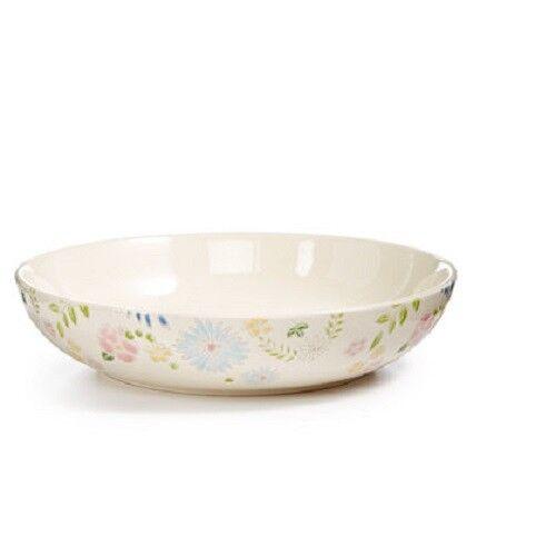 Martha Stewart Painters Garden Pasta Bowls  Set of 4