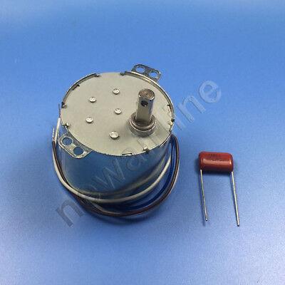 1PCS AC220V 1RPM 6W Gear Motor 50KTYZ Permanent Magnet Synchronous Motor