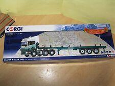 Corgi Modern Truck /Heavy Haulage/Scania R Cab Unit & Log trailer/Jenkinson/Rare
