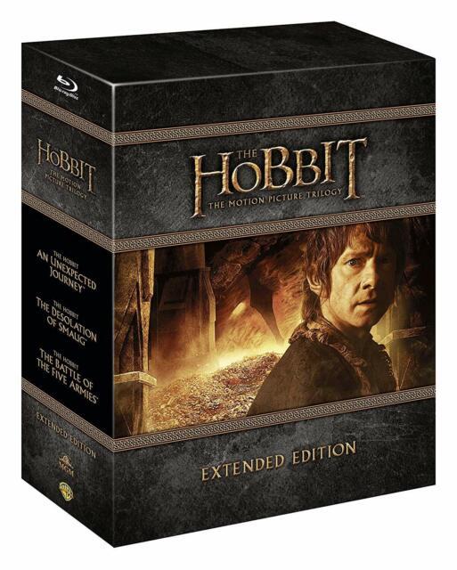 Lo Hobbit - La Trilogia - Extended Ed. (9 Blu-Ray Disc) - ITA ORIG SIGILLATO -
