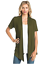 Women-039-s-Solid-Short-Sleeve-Cardigan-Open-Front-Wrap-Vest-Top-Plus-USA-S-3X thumbnail 21