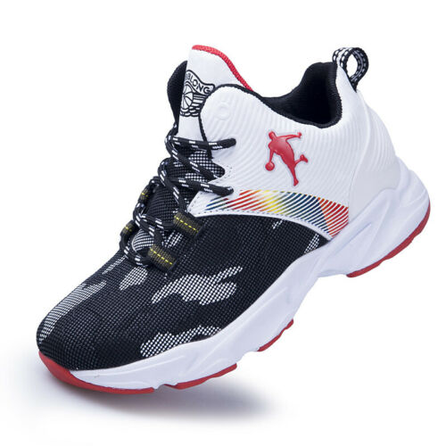 Kids Size UK Basketball shoes Trainers Boys Running Sports Shoes Casual