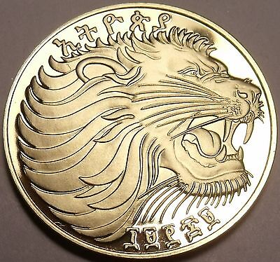 50 Coins Ethiopia EE-1969 F.A.O Cents~Roaring Lion~Awesome~Fr//Shi Gem Unc Roll