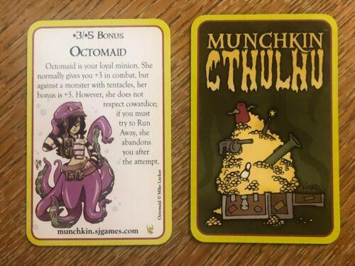 Munchkin Munchkin Cthulhu Octomaid Promo Card Gen Con 2016