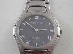Relógio Technos Safira 4T2A VM007 Tec 426 Design Fino   eBay 85dc832106