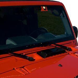 Opar Automotive Black Cowl Vent Hood Scoop Car Cover For