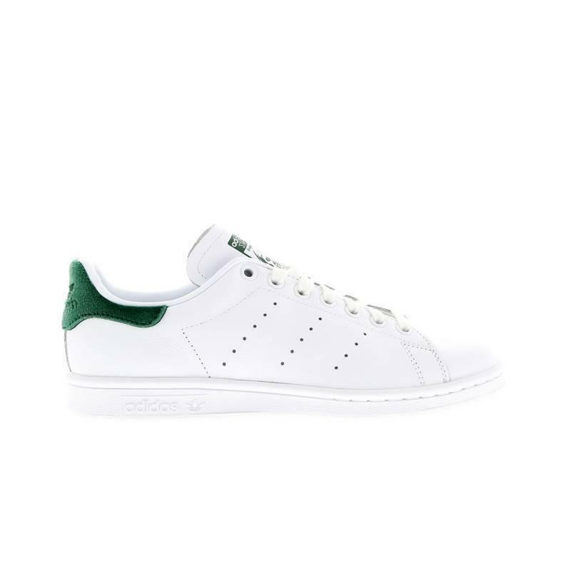 Womens ADIDAS STAN SMITH W W W White Leather Casual Trainers BA7502 2b9393