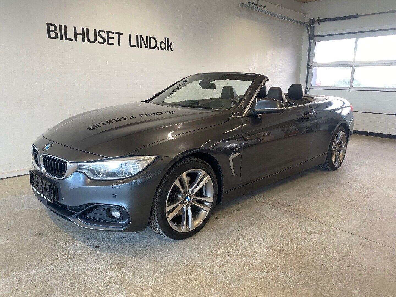 BMW 430d 3,0 Cabriolet aut. 2d - 464.900 kr.