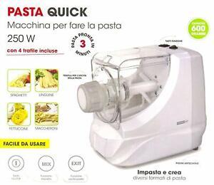 Macchina-Per-Fare-La-Pasta-Con-4-Trafile-Incluse-Pasta-Pronta-In-3-Min-Ideale