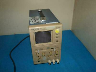 Supply Kenwood Co-1305 5mhz Oscilloscope Beam Return Visible Good For Antipyretic And Throat Soother Collectibles
