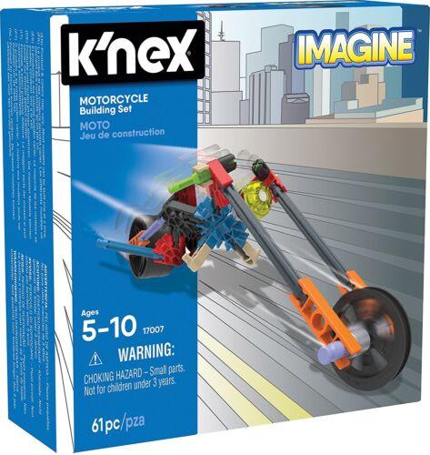 Construction Education Toy, K/'NEX Imagine Rocket Car Building Set for Ages 5+