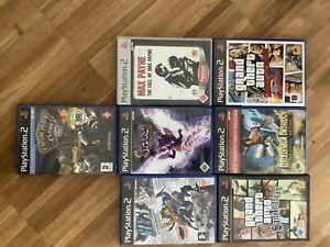 PS2 Spielesammlung GTA ..... - Seewiesen, Deutschland - PS2 Spielesammlung GTA ..... - Seewiesen, Deutschland