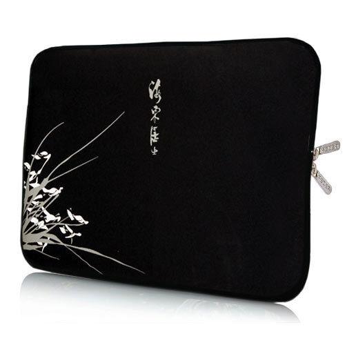 UNIVERSALE Borsa neoprene 10,2 pollici Laptop Tablet Custodia Protettiva Case nero. 26,6cm