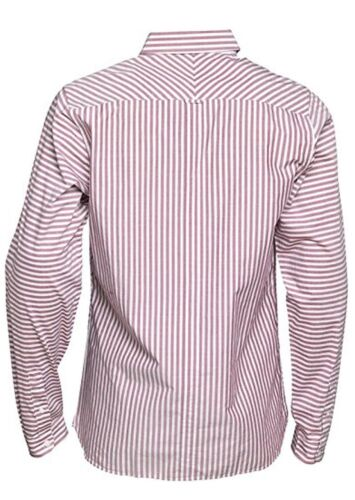 Fred Perry Horizontal Stripe Men/'s Long Sleeve Shirt M3273-106