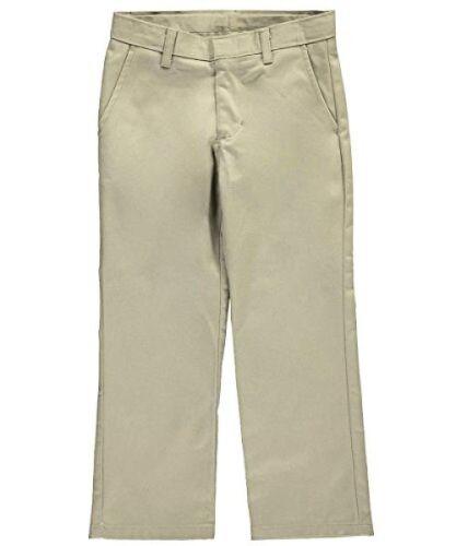 Pick SZ//Color. Nautica Childrens Apparel Big Boys Uniform Flat Front Pant L//16