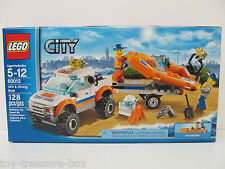 LEGO City - 4x4 & Diving Boat - Model # 60012 - Ages 5-12 - 128 piece set