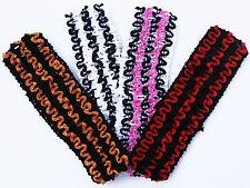 """Lot of (100) 1.5"""" Crochet Headbands You Pick Colors!"""