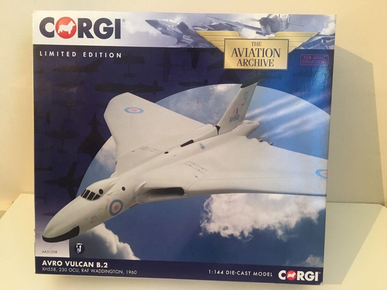 1 144 Corgi AA31208 - Avro Vulcan B.2 XH558, RAF Waddington 1960