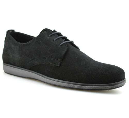 Mens Red Tape Leather Suede Casual Smart Lace Up Walking Work Office Shoes Size