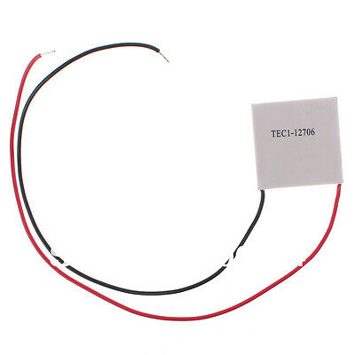 12v 60w Tec1-12706 Kühlkörper Thermoelektrische Kühler Peltier Kühlung Scheibe Knitterfestigkeit