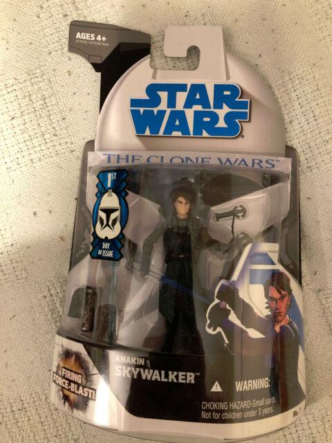 Star Wars The Clone Wars Anakin Skywalker 1st Day of Issue Figure