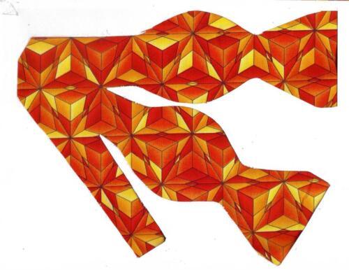 Orange Fall Bow tie Orange Bow tie Self-tie Bow tie Yellow Abstract Stars