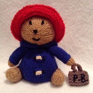 KNITTING-PATTERN-Paddington-Bear-inspired-Choc-orange-cover-or-15-cms-toy