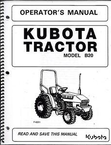 Kubota B20+LB Tractor w/Loader & Backhoe Operator's Manuals (set of on cub cadet kohler wiring diagram, kubota wiring diagram online, gmc ignition wiring diagram, kubota rtv 500 wiring schematic, installing a light switch wiring diagram, toro timecutter diagram, kubota rtv 900 clutch diagram, fisher minute mount plow light wiring diagram, kubota m9000 wiring diagram, kubota alternator wiring diagram, new holland ignition switch diagram, kubota tractor wiring diagrams, kubota rtv 900 ignition switch, kubota b1700 cooling system diagram, kubota b21 wiring diagram, kubota b7100 wiring diagram, kubota zero turn mower wiring diagram, gl6500s kubota wiring diagram, kubota voltage regulator diagram, lincoln 225 arc welder wiring diagram,
