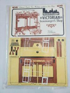 Alphagraphix-Victorian-Ironmonger-039-s-Shop-1-43-Scale-Card-Model-Kit