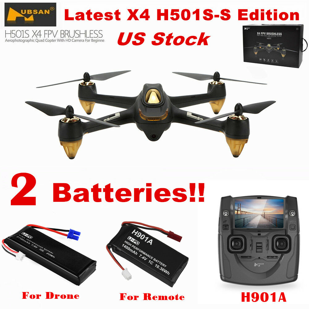 Sito ufficiale Hubsan X4 H501S Brushless 1080P 1080P 1080P FPV Quadcopter Follow Me GPS Drone RTF+Battery  autentico online