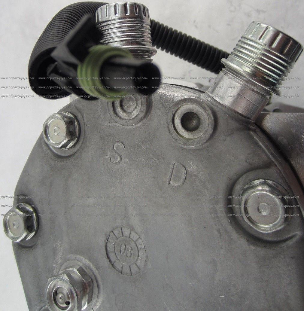 SD7 A//C Compressor for John Deere Kobelco 24100P4816S019 425-963-A230 5752