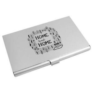 'Home Sweet Home' Business Card Holder / Credit Card Wallet (CH00007392)