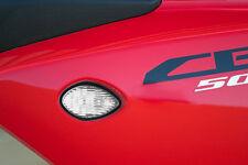 13-15 Honda CBR500R Pair of LED Flush Mount Turn Signals - Clear Lens