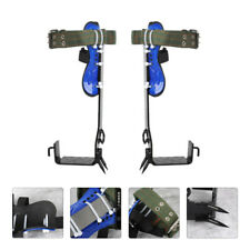 2 Gears Safety Harness Belt Rope Spike Shoe Tree Climbing Aid Tree Climbing Gear