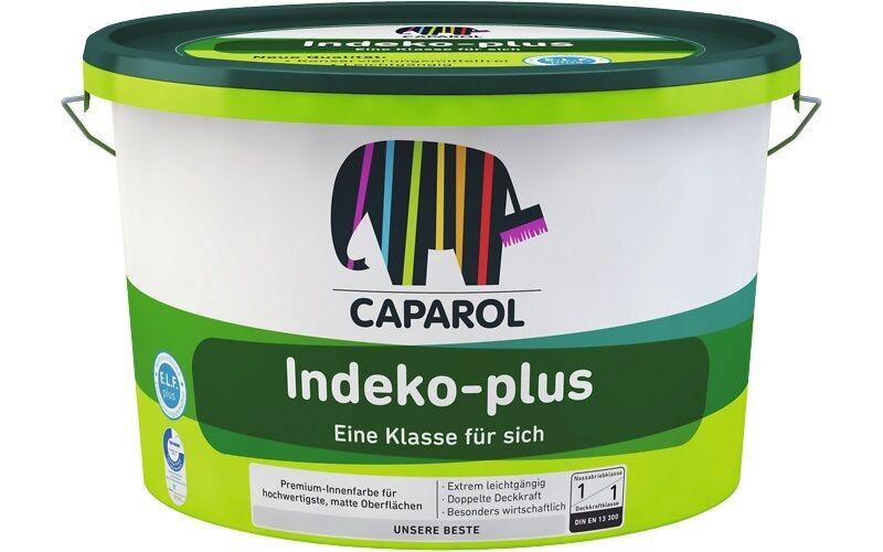 10 x Caparol Indeko-plus 12,5 Liter -extrem ergiebig und wirtschaftlich-