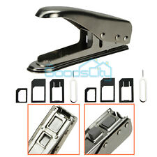Universal Cutting Edge Micro Nano SIM Card Cutter for iPhone 6 5S 4S +6 Adapters